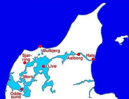 hvor ligger limfjorden